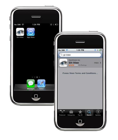 Smartphone/PDA/Table App - Distributors GeoVision in